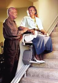 Bruno straight stair lift for the Atlanta or north Georgia home
